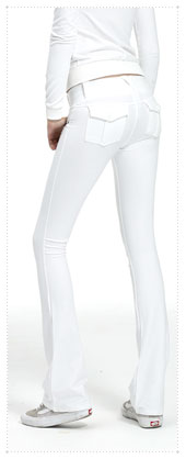 1063728 - 아웃 트윈 _ pocket Xpoint pants _ White