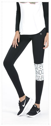 1074537 - 타이포 point Leggings_Black