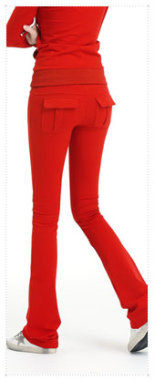 1075670 - napping 아웃 포켓 pants_Red